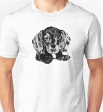 Dapple Dachshund Unisex T-Shirt