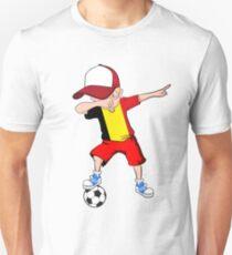 79263156b51 Dabbing Soccer Boy Belgium Jersey Shirt - Belgian Football 2 Unisex T-Shirt