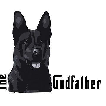 Dog-Godfather by ceciliamart