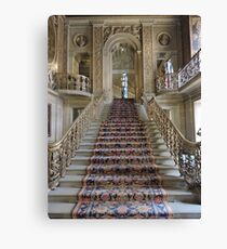 Grand Staircase of the Painted Hall Canvas Print
