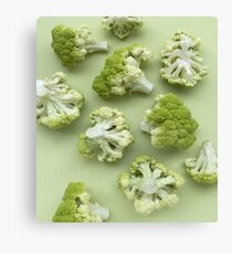 Broccoli Bunch Canvas Print