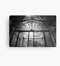 Glasshouse Metal Print