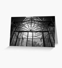 Glasshouse Greeting Card