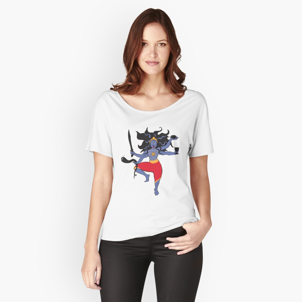 The Goddess Kali Relaxed Fit T-Shirt