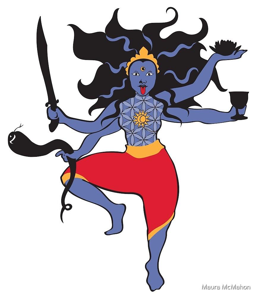 The Goddess Kali by Maura McMahon