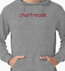 Chartreuse. Lightweight Hoodie