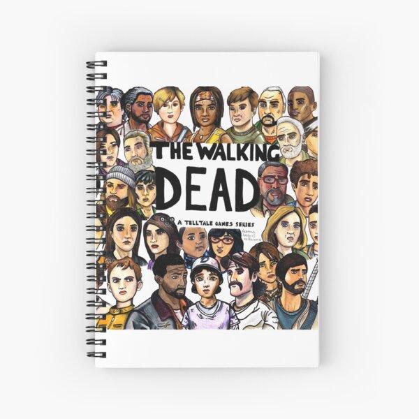 The Walking Dead Telltale Spiral Notebook