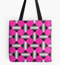 Optical Squares Tote Bag