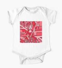 Honey, we need to talk - bloody red (Starring Marie-Antoinette) One Piece - Short Sleeve