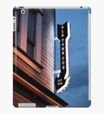 Steamboat Springs at Night #2 iPad Case/Skin