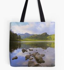 The Lake District: Reflections in Blea Tarn Tote Bag