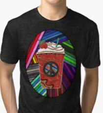 Psychedelic Frappuccino Tri-blend T-Shirt