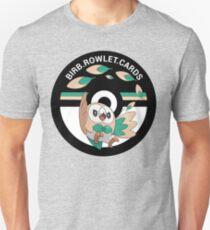 birb.rowlet.cards logo Unisex T-Shirt
