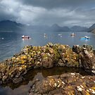 Elgol. Summer Rain. Loch Scavaig and The Cuillins. Isle of Skye. Scotland. by PhotosEcosse