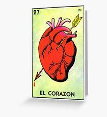 El Corazón Grußkarte