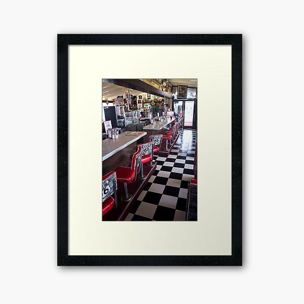 Summit Inn Route 66 Framed Art Print