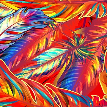Colorful and tropical print by fschueler