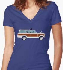Pippi and Wags Women's Fitted V-Neck T-Shirt