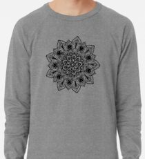 Boho Chic Blume Leichter Pullover