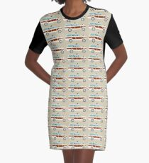 Pippi and Wags Graphic T-Shirt Dress