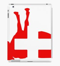 Switzerland country flag cow iPad Case/Skin
