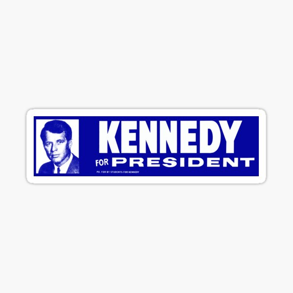 1968 Robert Kennedy for President Sticker