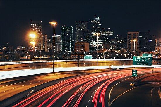 Denver After Dark #3 by Rachel Jeffrey