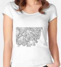 lillies Women's Fitted Scoop T-Shirt