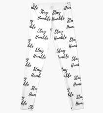 Stay Humble Word Art Leggings
