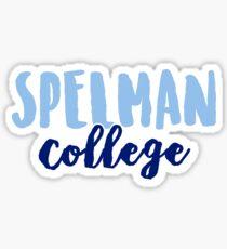 Spelman College Sticker