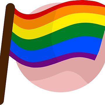 Rainbow Gay Flag by Sonorouss