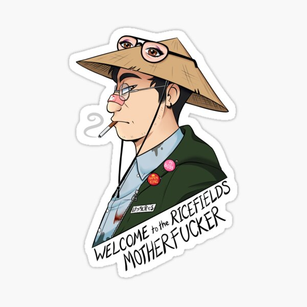 Filthy Frank- Welcome to the Ricefields Sticker