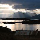 Isle of Skye from Coillegillie, Applecross Peninsula, Scotland. by PhotosEcosse
