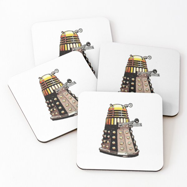Doctor Who - 1975 Dalek #5 Coasters (Set of 4)
