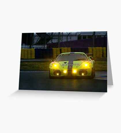 Le Mans 2009 by night Greeting Card