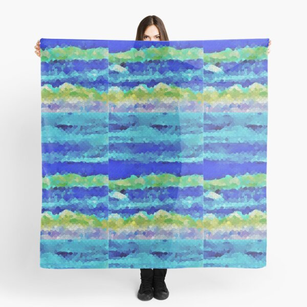 Undertow Abstract Scarf