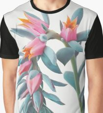 Succulent Cluster Graphic T-Shirt