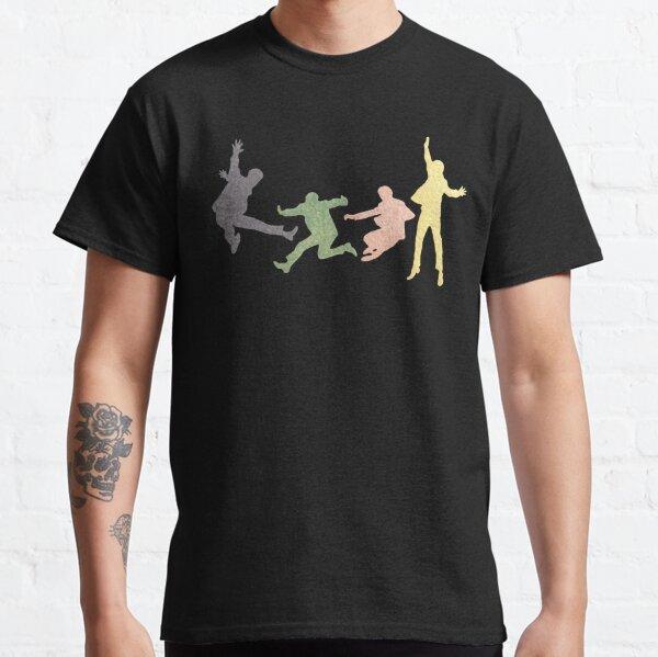 Beatles Multi Media Print Camiseta clásica