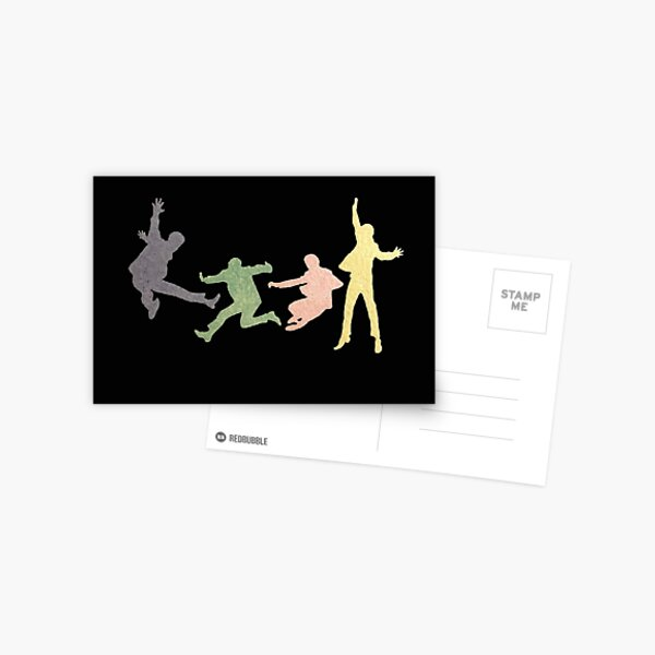 Beatles Multi Media Print Postcard