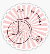 be quirky 2 Sticker