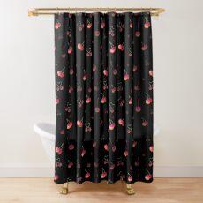 Rainbow Cherries Shower Curtain
