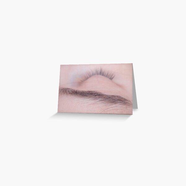dream hairound your eye Greeting Card