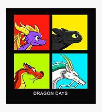 Dragon Days Photographic Print