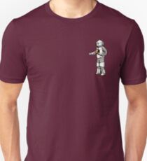 Doctor Who - 1975 White Robot Unisex T-Shirt