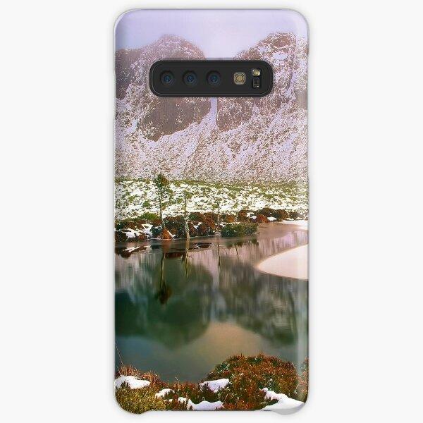 Winter in the Walls of Jerusalem Samsung Galaxy Snap Case