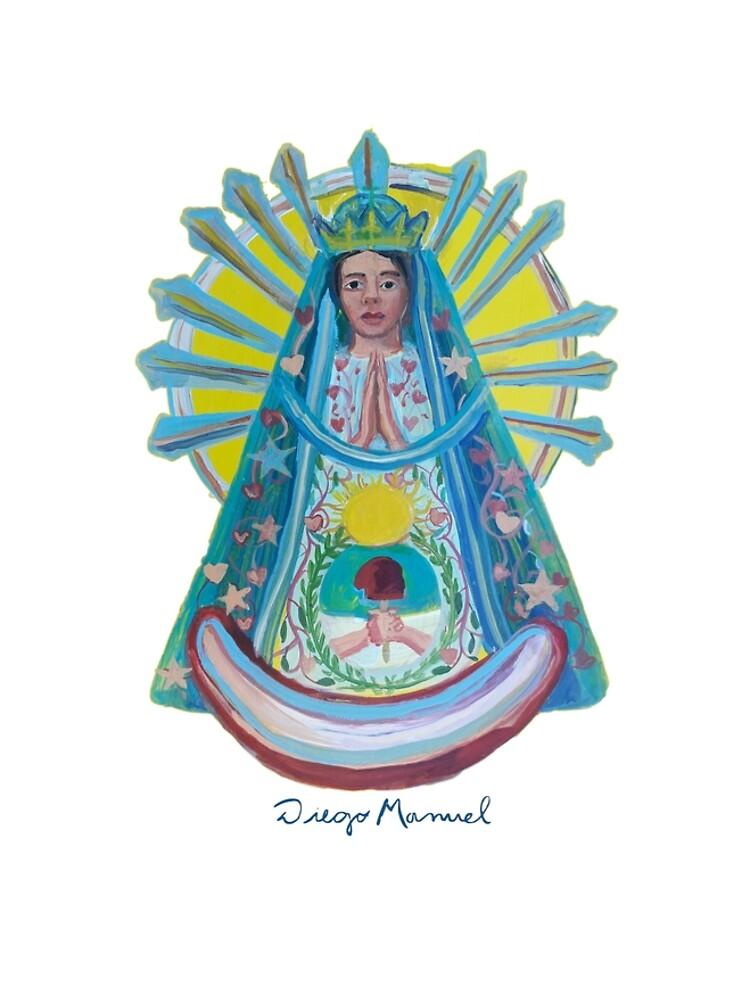 Virgin of Lujan 1 C by diegomanuel