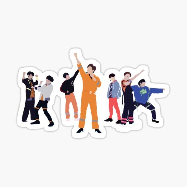 BTS- Anpanman Sticker