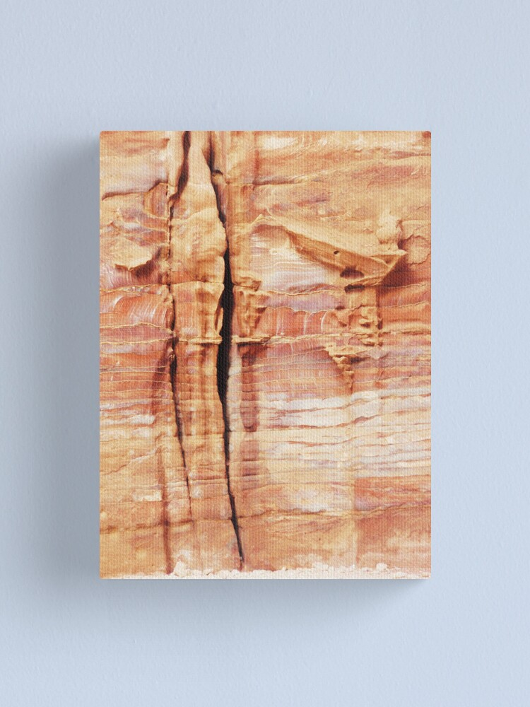 Alternate view of melting frontispiece Canvas Print