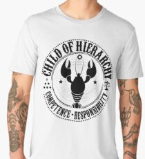 Child of Hierarchy - Black Logo Men's Premium T-Shirt