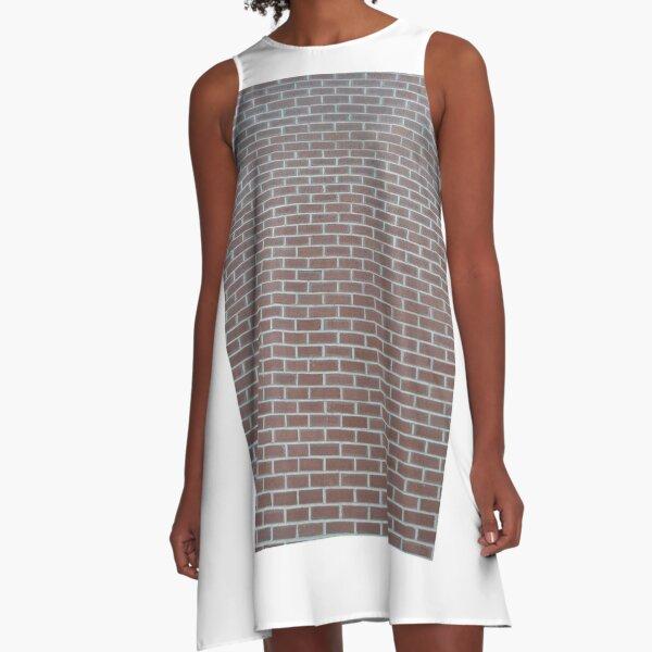 New York, Manhattan, downtown, #NewYork, #Manhattan, #downtown  A-Line Dress